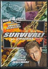 Survival! TV Series, Vol. 1 (DVD, 2014) hosted by James Whitmore