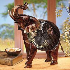 FANS -  TRUMPETING ELEPHANT FAN - ELECTRIC TABLE FAN