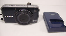 Canon PowerShot SX210 IS 14.1 MP Digital Camera 14x Optical Zoom w/ Charger