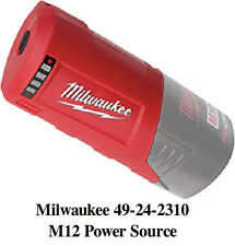 NEW MILWAUKEE 49-24-2310 M12 Power Source For Use With All M12 Battery Packs