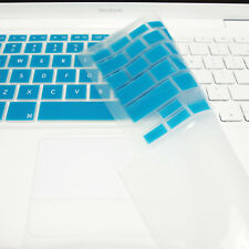 "FULL AQUA  Silicone Keyboard Skin Cover  for Old Macbook White 13"" (A1181)"