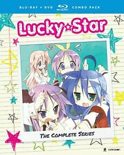 Lucky Star . The Complete Series + OVA . Anime . 4 DVD + 4 Blu-ray . NEU . OVP