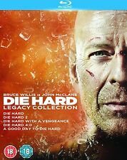 DIE HARD 1-5 Legacy Collection Box Set - Blu-ray (John McClane / Bruce Willis)