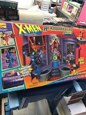 X-MEN HEADQUARTERS PLAYSET Featuring The DANGER ROOM NEW Never Opened!