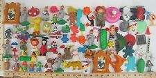 Vintage HUGE PVC & Toy Figure Lot Mario Alf ET Smurf Fast Food Premiums M&M +++