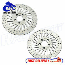 "11.5"" Harley 1 Front & 1 Rear Brake Rotors Disc Heritage Softail FLSTC/I 00-14"