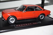 Peugeot 504 Coupe 1971 rot 1:18 Norev neu & OVP 184776