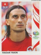 N°487 HAKAN YAKIN # SWITZERLAND STICKER PANINI WORLD CUP GERMANY 2006