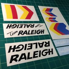 Team Andy Ruffell Raleigh Burner style Custom BMX Stickers/Decals