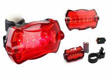 KEK  Bicycle Bike Cycling 5 Led Tail Rear Safety Flash Light Lamp Red With Mount