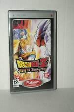 DRAGON BALL Z SHIN BUDOKAI USATO SONY PSP EDIZIONE ITALIANA PLATINUM BD1 45110