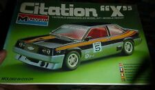 Monogram CHEVY CITATION X 1/24 Model Car Mountain KIT FS 1981 VINTAGE
