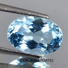 AQUAMARINE 8x6 MM OVAL CUT OUTSTANDING BLUE COLOR ALL NATURAL