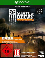 State of Decay-Year One Survival Edition Day One Xbox One nuevo & OVP