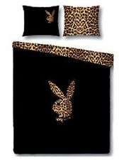 PLAYBOY BETTWÄSCHE PLAYBOY LEOPARD BUNNY GROSS CA. 80 x 80/135 x 200 CM NEU