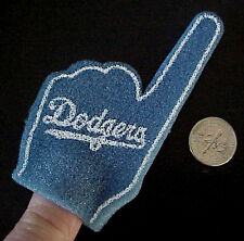 LA LOS ANGELES DODGERS BASEBALL #1 MILLER LITE BEER SPONGE FINGER PUPPET