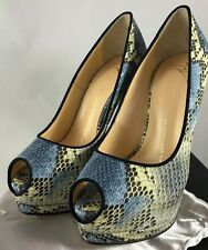 BRAND NEW 100% Authentic Giuseppe Zanotti Sharon Python Heels Pumps RRP £540