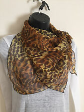 women silk squared scarf