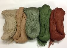 Ghillie Suit Kit Synthetic Material in 5 Colors / Turkey Hunting / Prepper