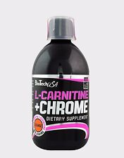 Biotech USA L-Carnitine + Chrome 500ml Liquid  grapefruit  free P&P