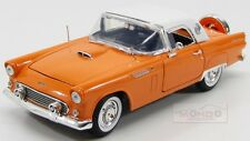 Ford Usa Thunderbird Coupe Hard Top 1956 Orange White Motormax 1:18 MTM73176OR