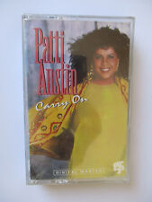 "PATTI AUSTIN ""CARRY ON"" - CASSETTE TAPE - BRAND NEW"