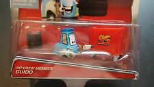 DISNEY PIXAR CARS PIT CREW MEMBER GUIDO 2015 SAVE 5% WORLDWIDE FAST SHIP