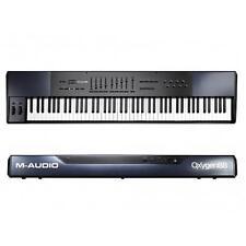 M-AUDIO OXYGEN 88 MK3 MASTER KEYBORD MIDI USB TASTIERA 88 TASTI PESATI MKIII