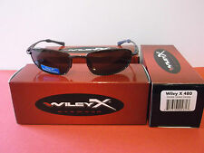 Wiley X 480 polarized sunglasses + free hard shell case