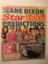 STAR Magazine 1-17-1995. O.J. Simpson & Nicole Brown! Traci Lords! Princess Di