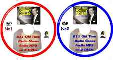 YOURS TRULY, JOHNNY DOLLAR 811 Shows 2 DVDs OTR MP3 Old Time Radio Audio