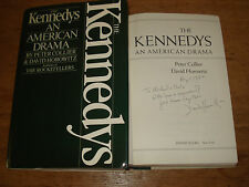 Kennedys: An American Drama, Horowitz, David,SIGNED COPY,FIRST EDITION H.B 1984