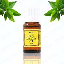 100% Pure Australian Tea Tree Oil 10ml Essential Natural Antiseptic Anti Fungal
