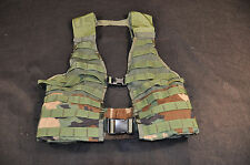 USGI MOLLE II ASSAULT VEST - WOODLAND BDU CAMO - ISSUED - GREAT CONDITION