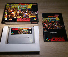 Super Nintendo SNES/Donkey Kong Country 2-Diddy 's Kong Quest + embalaje original + INST. PAL cib