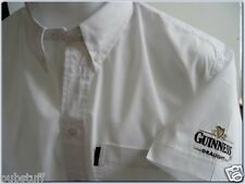 GUINNESS DRAUGHT BEER SHIRT - Genuine New Diageo Brewery Bar Pub Business Top M