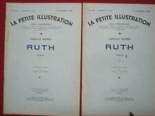 RUTH - Camille MARBO - Roman  -  1933 Compositions Henry CHEFFER Illustration
