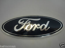 Genuine Ford Fiesta MK7 Front Grille Blue Oval Ford Badge 2008-2013