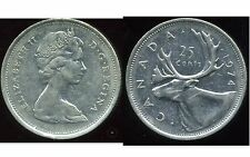 CANADA 25 cents  1974  ANM
