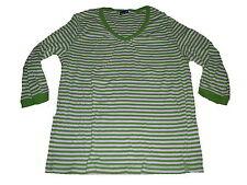 Cecil tolles Shirt Gr. XL grün-weiß gestreift !!