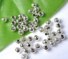 FREE SHIP 1000Pcs 2/3MM Round Metal Ball Spacer Bead DIY Jewelry Making Findings