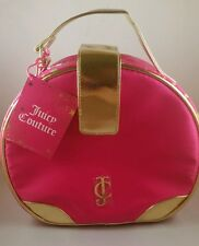 Juicy Couture pink and gold Vanity Case NEW