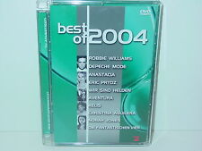 "*****DVD-VARIOUS ARTISTS""BEST OF 2004""-EMI*****"