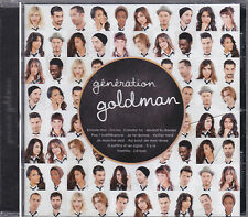 CD GENERATION GOLDMAN 1 13T POKORA/TAL/MOIRE/WILLEM/BENT/ZAZ/SHY'M