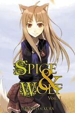Spice and Wolf, Vol. 1  by Isuna Hasekura (Paperback) FREE SHIPPING (BRAND NEW)