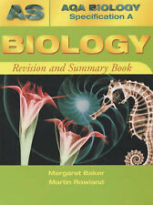AQA (A) AS Biology Revision and Summary Book (AQA Biology Specification A) By M