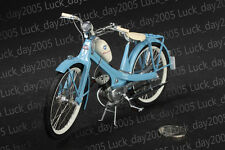 SCHUCO NSU QUICKLY Moped Blue 1/10 Diecast Model