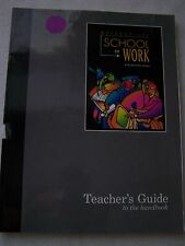 Great Source Write Source Writers Inc School To Work Teacher's Guide 0669408751