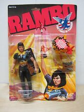 VINTAGE 1986 COLECO RAMBO KAT K.A.T. FORCE OF FREEDOM MOC SEALED COMPLETE