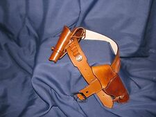 Custom Leather Montado Double Gun Rig | Cowboy Western Holster Belt